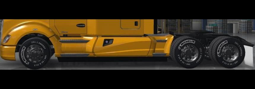 Michelin And Goodyear Tire Mod For ATS v1.0