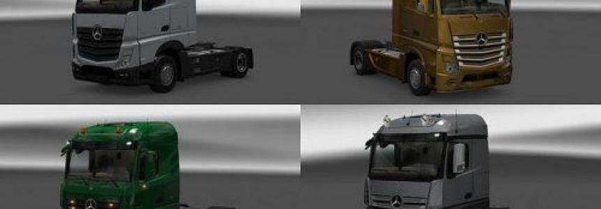 New Actros plastic parts and more v3.3