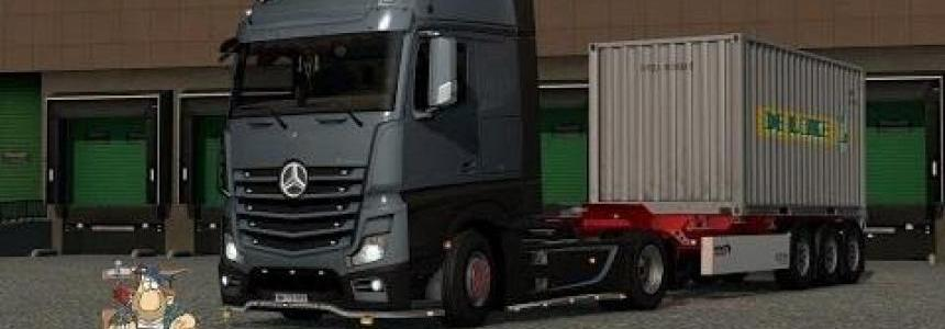 New Actros Plastic Parts and more v3.4.0