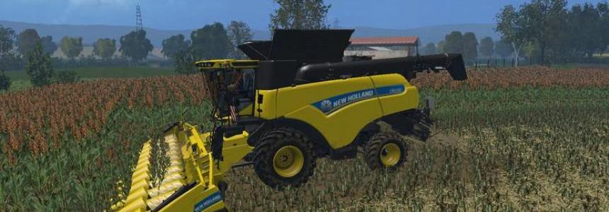 New holland cr 10.90 Dirt wheels v1.0