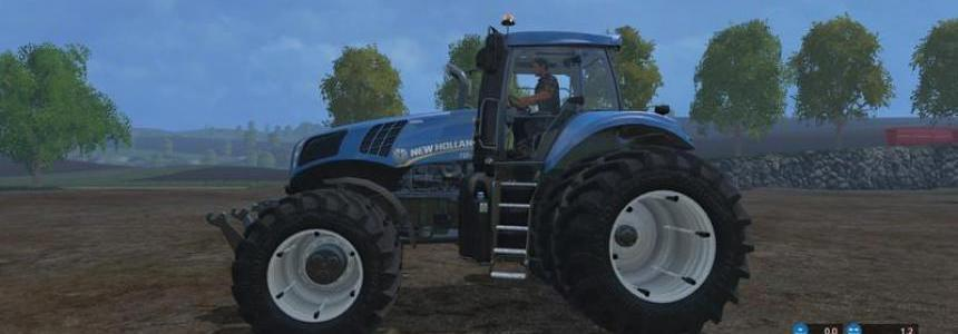 New Holland T8435 DW v4.0.3
