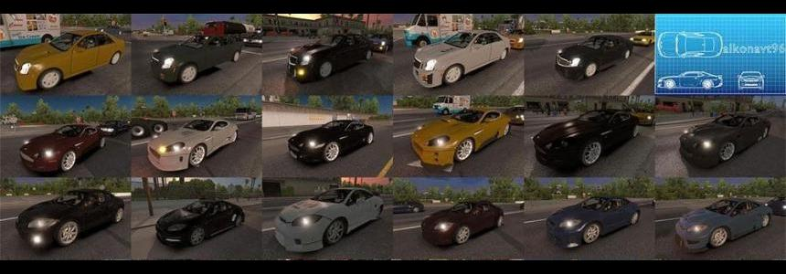 NFS: Most Wanted traffic pack update v1.1