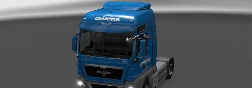 Owens combo for MAN TGX XXL