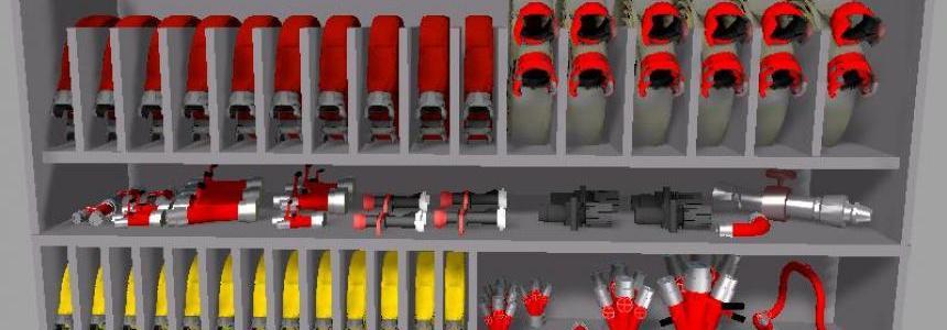Pack pour modeur de vehicules pompier v1