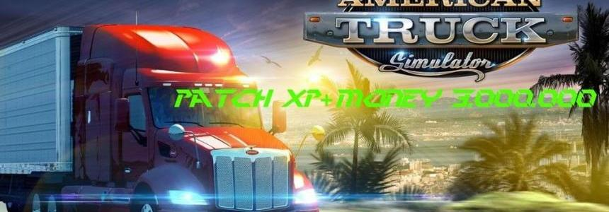 Patch Xp + Money 3.000.000