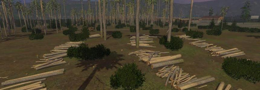 Pine trees with marks v0.9.2
