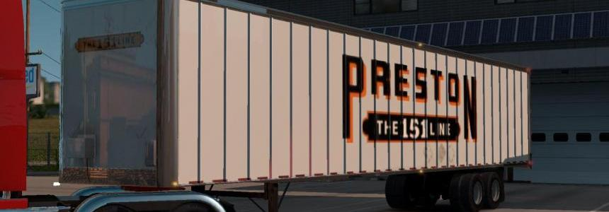 Preston Trucking Trailer Skin