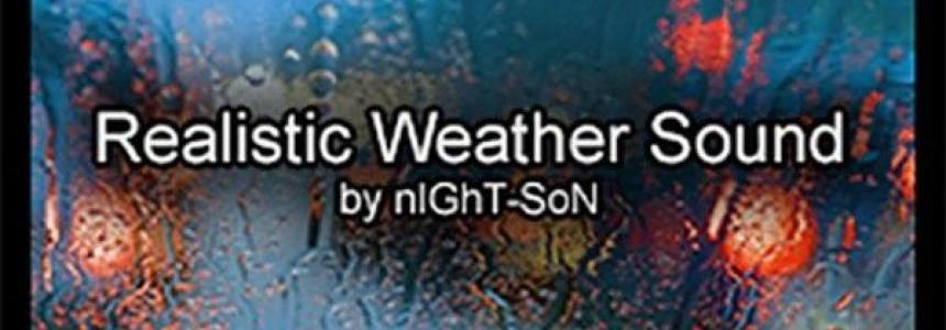 Realistic Weather Sound v1.7.5