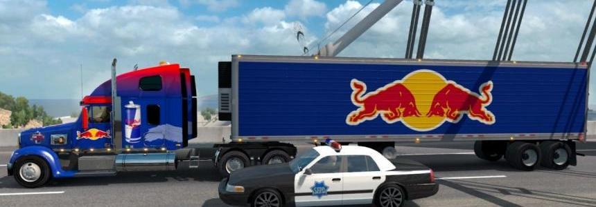 Red Bull Combo Pack – Coronado skin and trailer v1.0