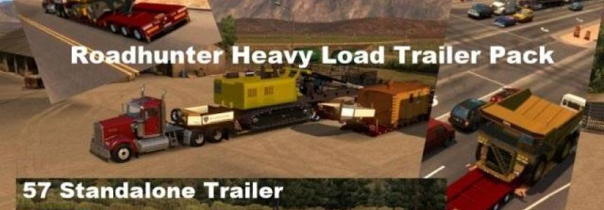 Roadhunter 57 Overweight Trailers Pack v2.0