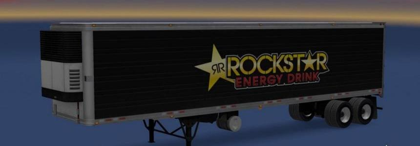 Rockstar Energy reefer trailer