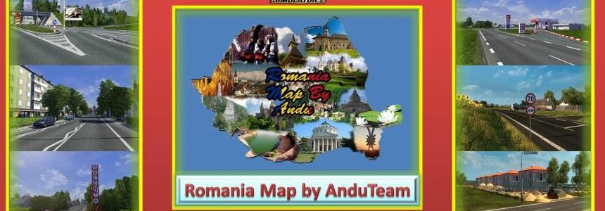 Romania Map by AnduTeam v1.1a