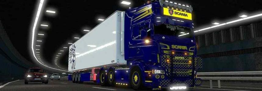 Scania Blue & Yellow Combo Pack + accessories