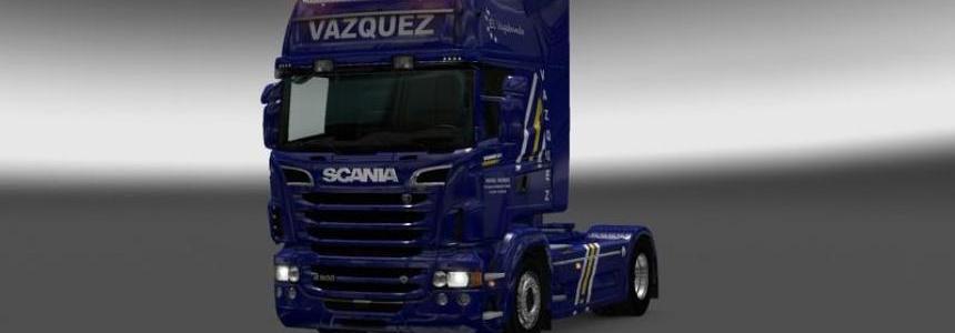 Scania R Vazquez Transporte
