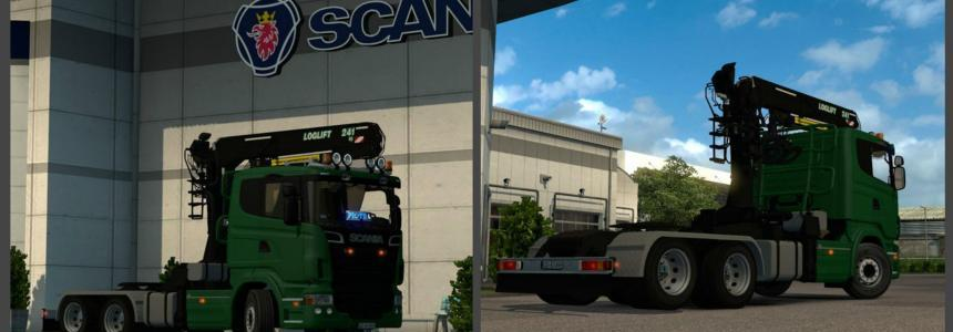 Scania R500 Drewex for 1.23 3.1