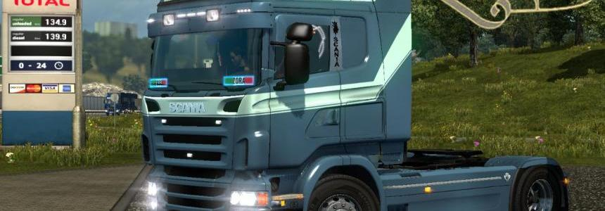 Scania RJL highline Kivits Drunen Skin