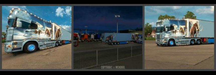 Scania RJL Longline Road Freezer Skin 1.23