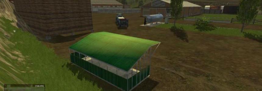 Shelter for pallets or other v1.2