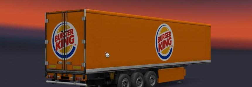 Starbucks Kinder Bueno Philips Burger King Trailer pack