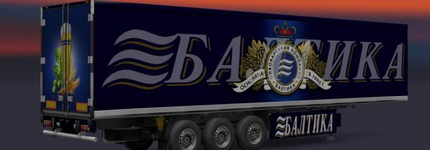 Trailer Pack Baltika Beer v1.0