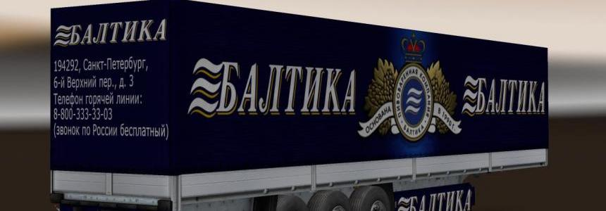 Trailer Pack Baltika Beer v2.0