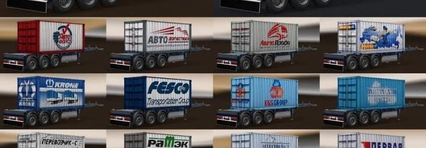 Trailer Pack Containers by Omenman v2.0