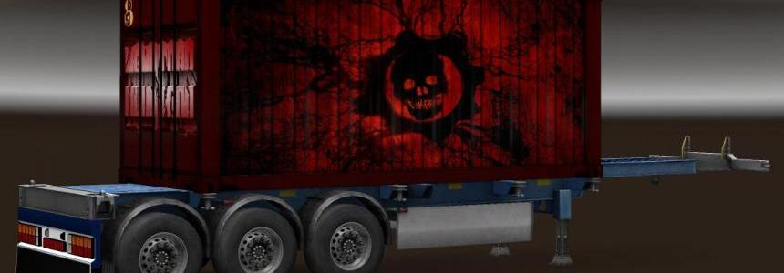Trailer Pack Containers Monsters v1.0