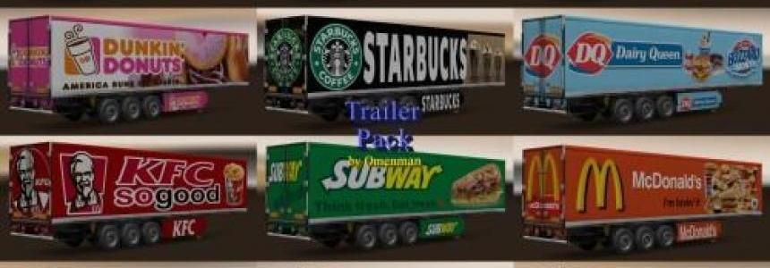 Trailer Pack Fast Food v1.0