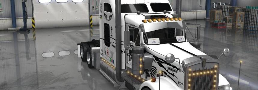 Uncle D Logistics - Master Craft Kenworth W900 Skin V1.0