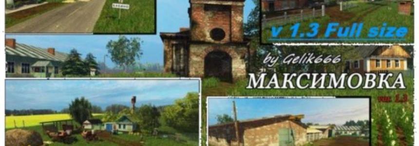 Village Maksimovka v1.3