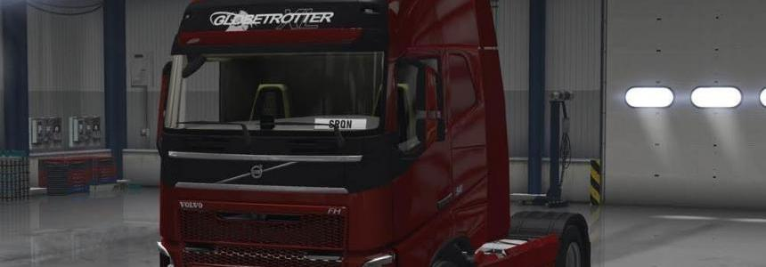 Volvo FH16 2012 Paintable Grille