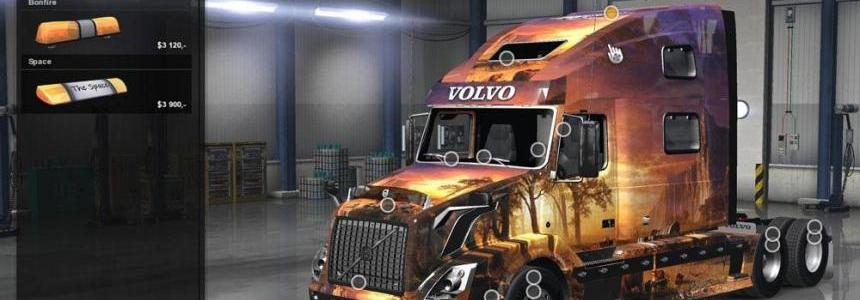 Volvo VNL 780 Reworked v2.0 + Edit Skin