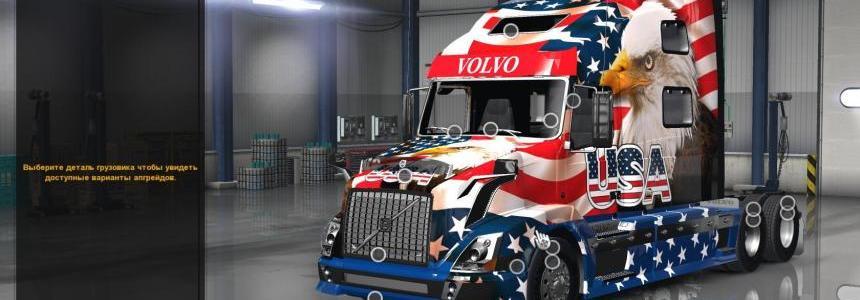 Volvo VNL 780 Reworked v2.0 + Edite Skin