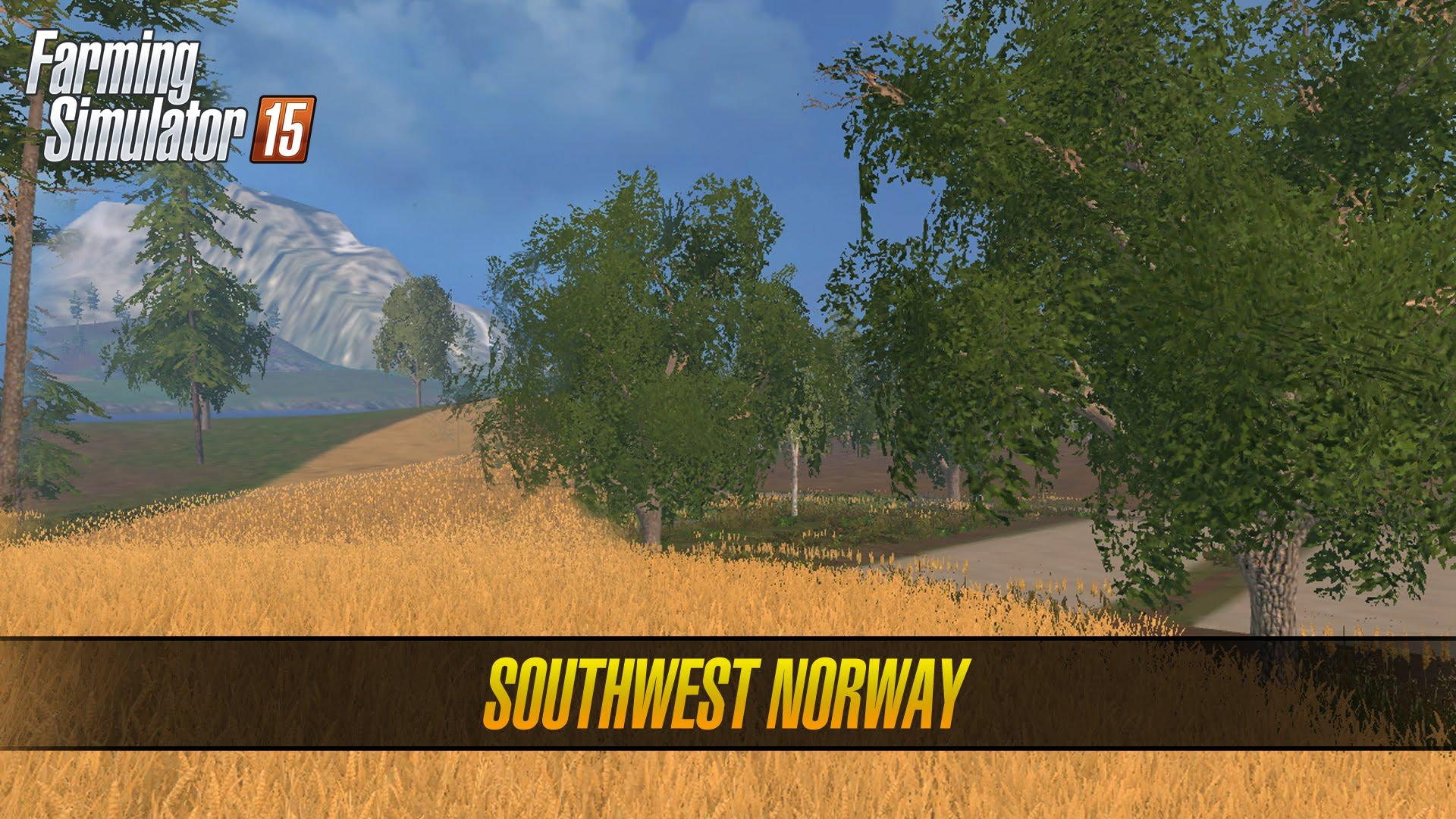 SouthWest Norway Map V Modhubus - Southern norway map ls15
