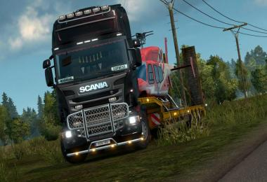 Sounds for the Scania T from Rjl, RS, R v7.3