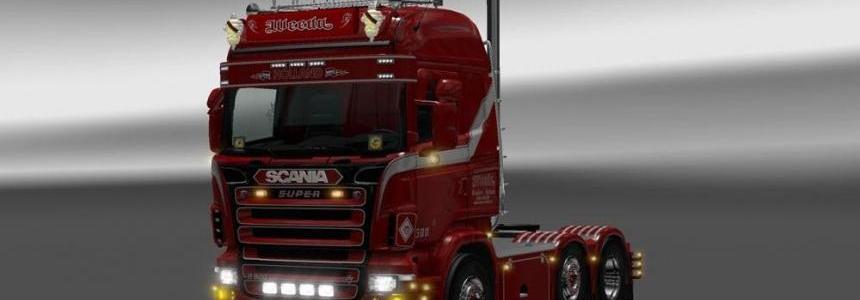 Scania RJL Weeda Skin