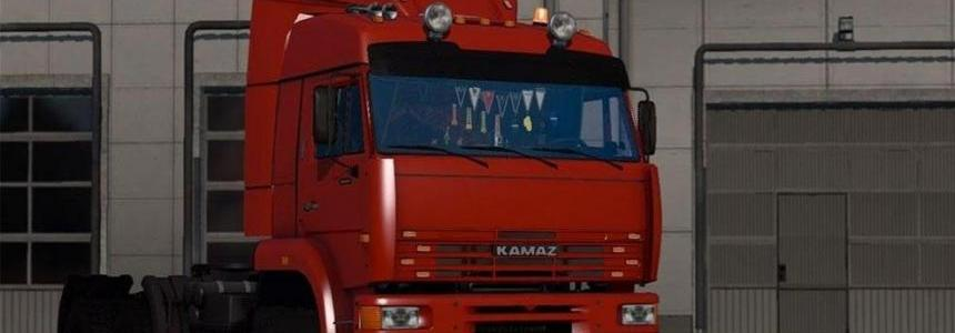 Addition for KAMAZ-6460 by Koral v1.04 (1.23.x)