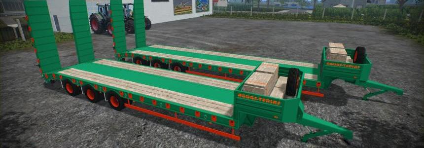 Aguas Tenias Low Loader Tridem v1.0