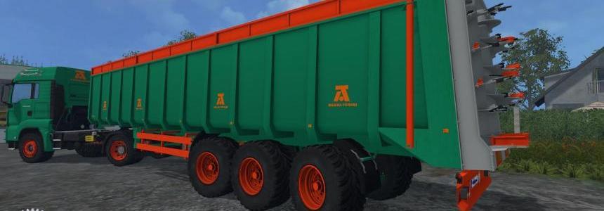 Aguas Tenias Manure Spreader Truck v1.0
