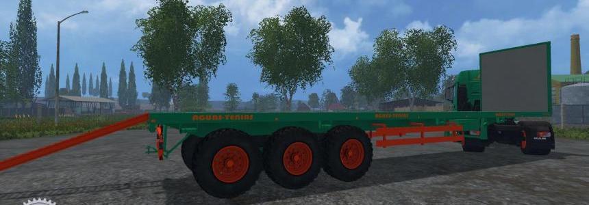 Aguas Tenias Platform Truck v1.0
