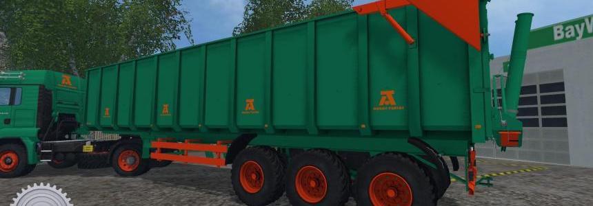 Aguas Tenias Trailer Truck v1.0