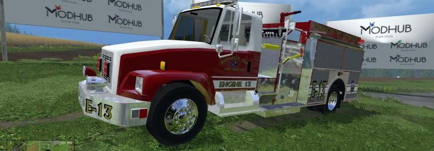 American fire Engine 13 v1.0 Final