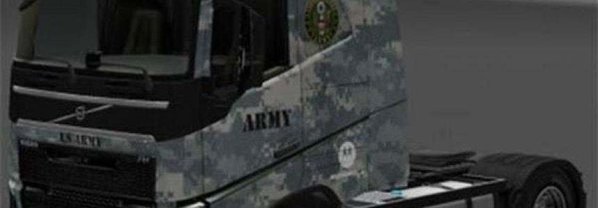 Army skin Volvo 1.23