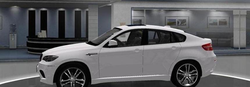 BMW X6M + Trailer 1.23