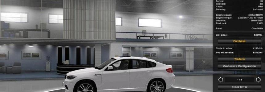 BMW X6M + Trailer  reworked v2.0