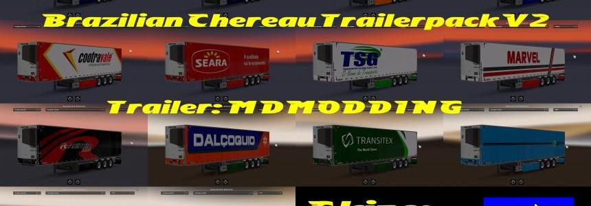 Brazilian Chereau Trailers Pack v2.0