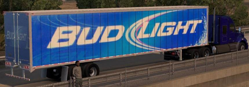 Bud Light Trailer Skin
