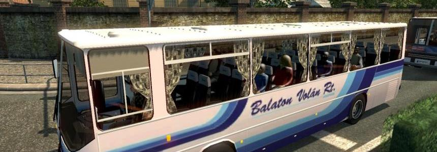 Bus Ikarus in trafic for 1.23