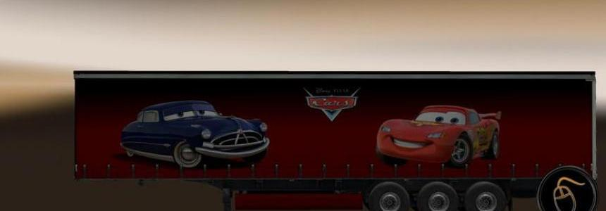 Cars Skin - Profiliner Trailer
