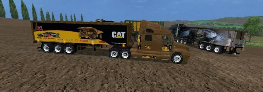 Cat Truck and Cat Semi Trailer v2.0 By Eagle355th